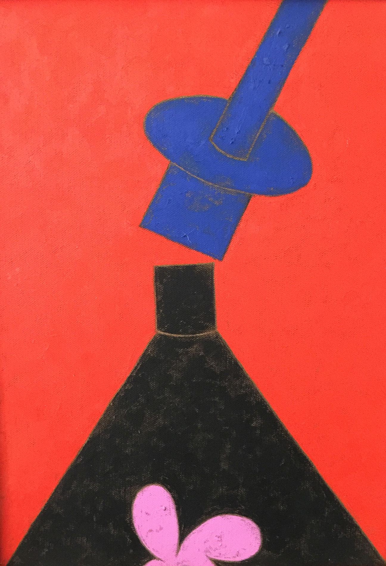Galeno   Sem título 6   Óleo sobre madeira   75 x 54 cm   2016