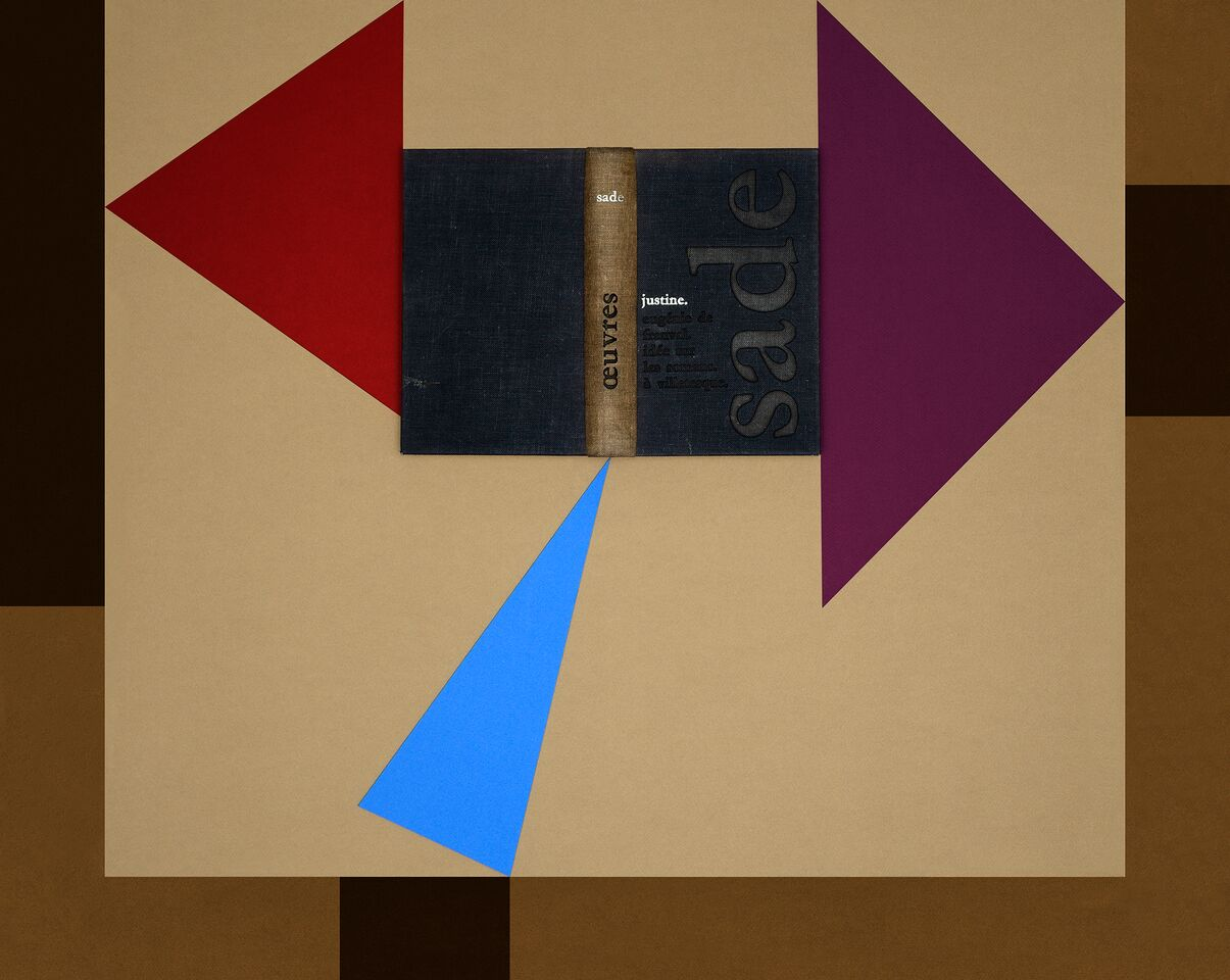 Gauthier d'Ydewalle | O Espírito dos Livros Sade, Justine | 80 x 105 cm | 2013