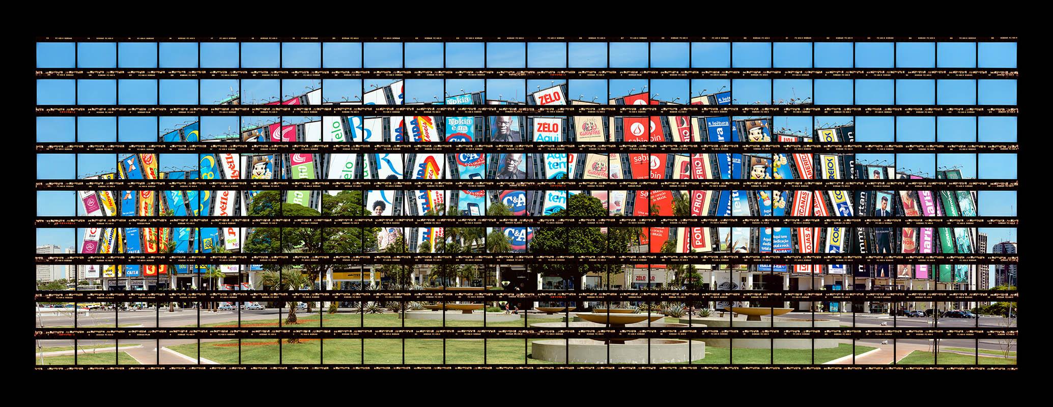 Gab Arte k2o art Thomas Kellner.Shopping Conjunto Nacional, Nauro Jorge Esteves.Brasília, Brasil.58x150cm.2008