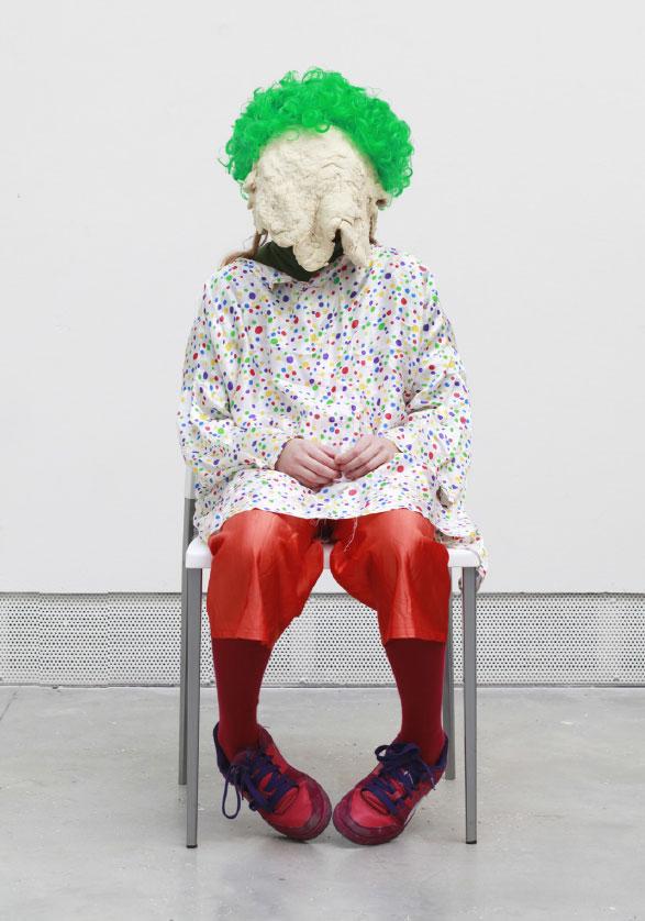 Soren Dahlgaard.Peruca verde.Venice Biennale Foundation.70x50cm.Fotografia em metacrilato.2013