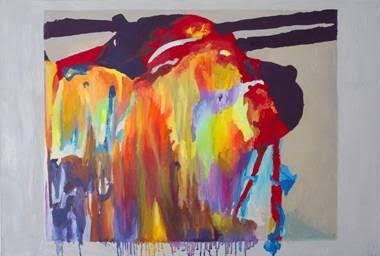 Bruno Duque | Franz | Óleo sobre tela | 80 x 120 cm | 2015