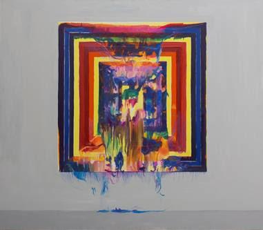 Bruno Duque | Frank | Óleo sobre tela | 140 x 160 cm | 2015