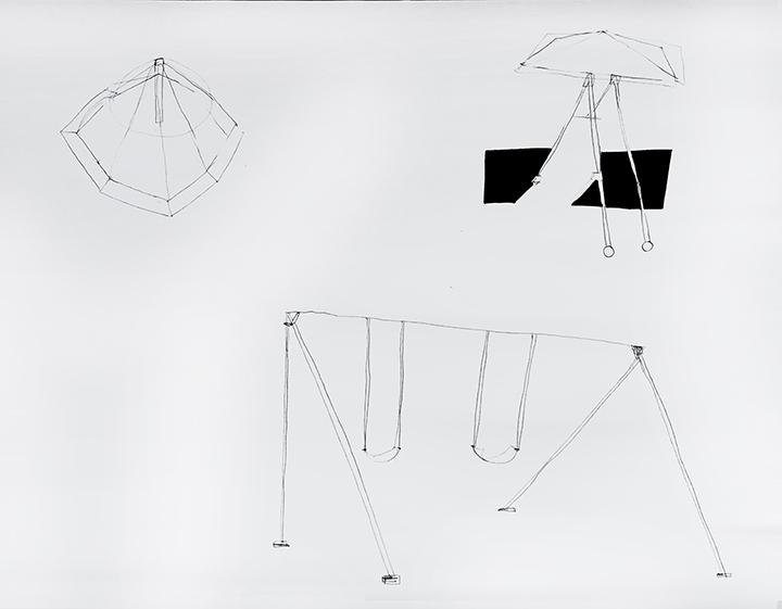 Gal. Karla Osorio. art. Maria Lynch. Life & Death beyond imaginary 4. Graphite on paper. 17.71x23.62in. 45x60cm. 2017