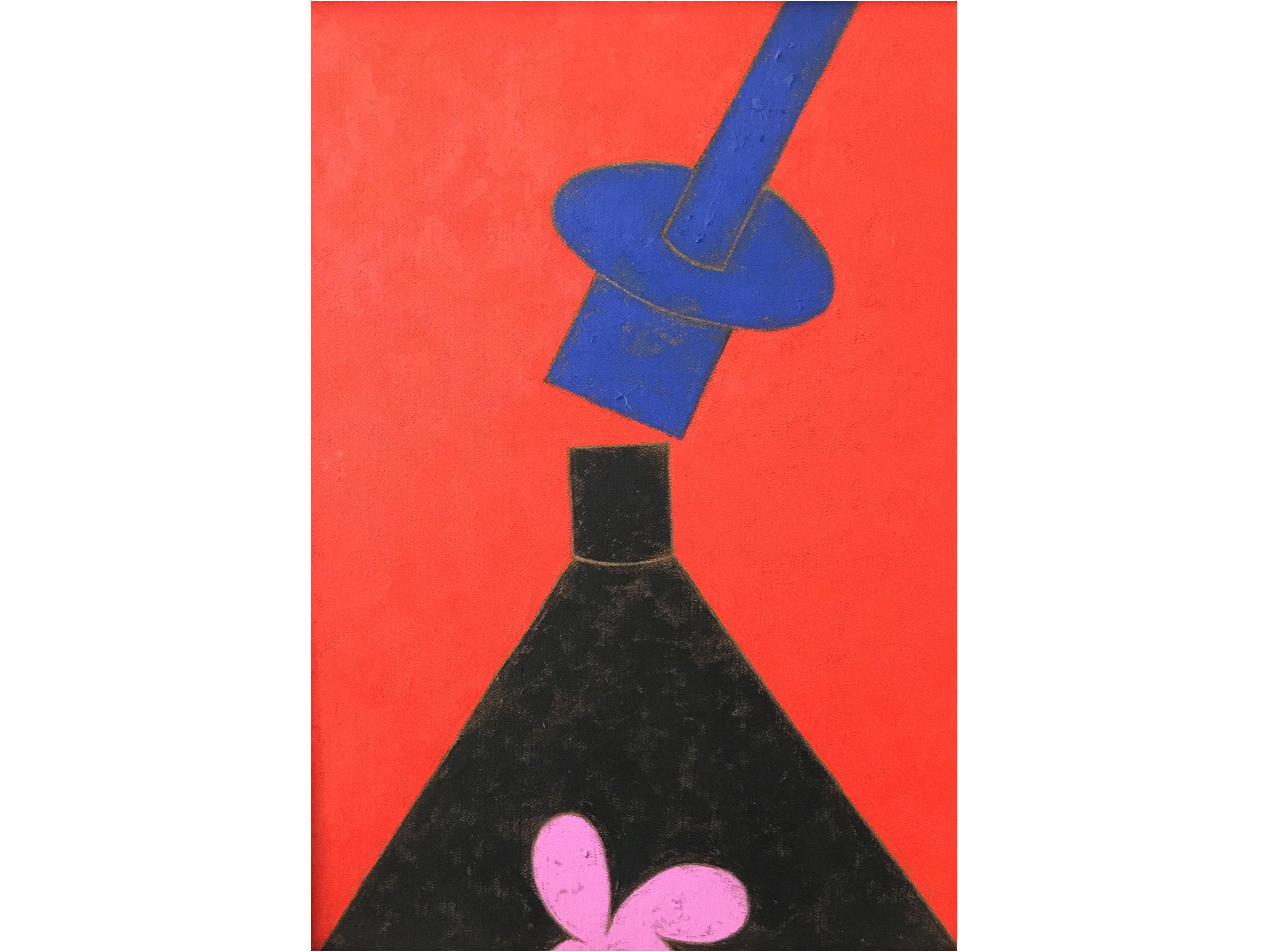 Gab Arte k2o art Galeno.Sem título 6.Óleo sobre madeira.75x54cm.2016