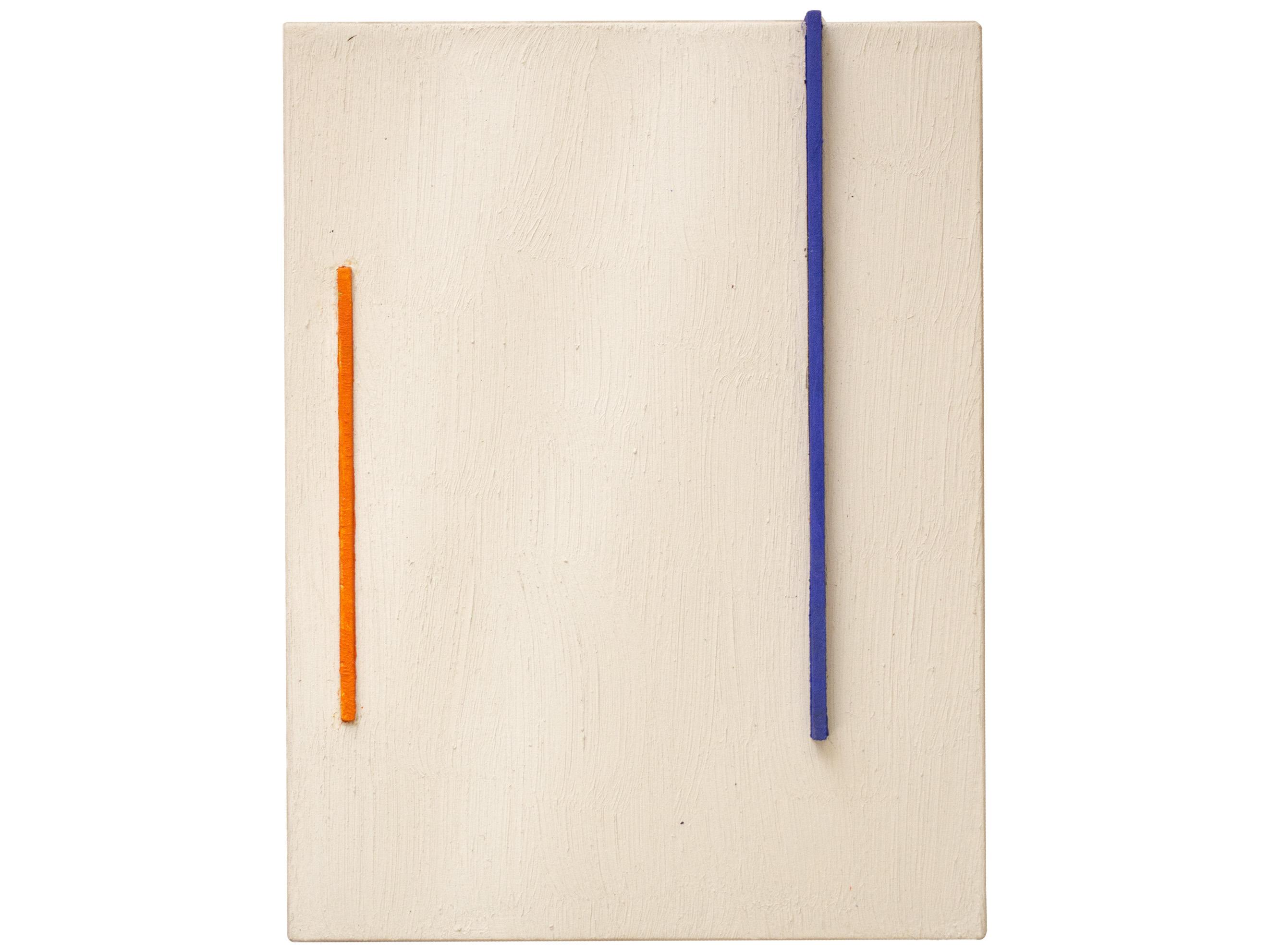 Gal. Karla Osorio. .art. Ricardo Homen. Sem título. Óleo sob. madeira e papel. 16x20x3cm. 2015-2017