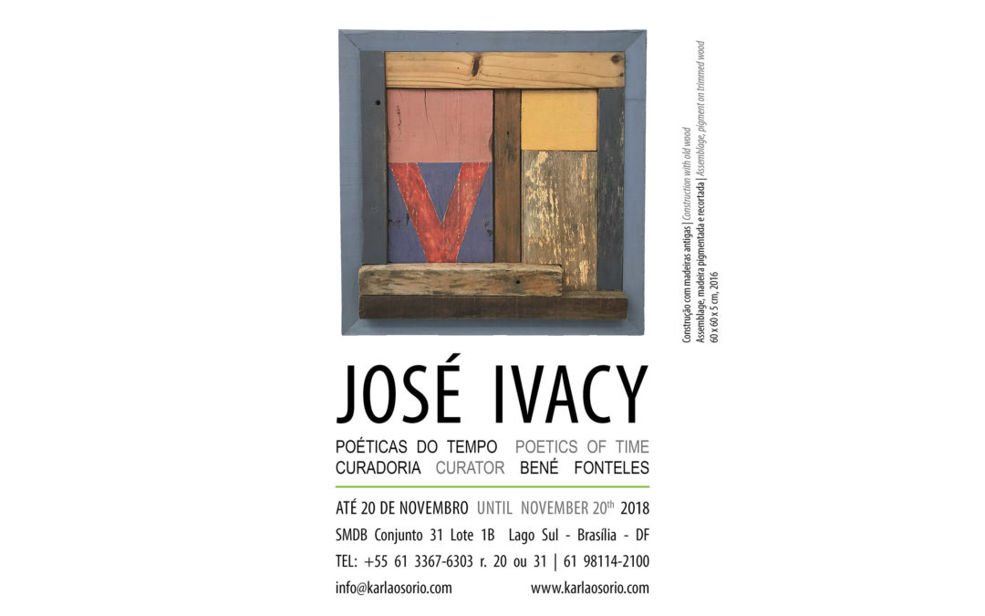 José Ivacy – Poéticas do Tempo