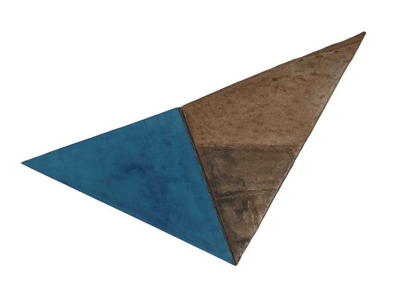 16. GaKO. art. José Ivacy. Objeto articulado. Tecido e madeira. 50x25x5cm. 1995