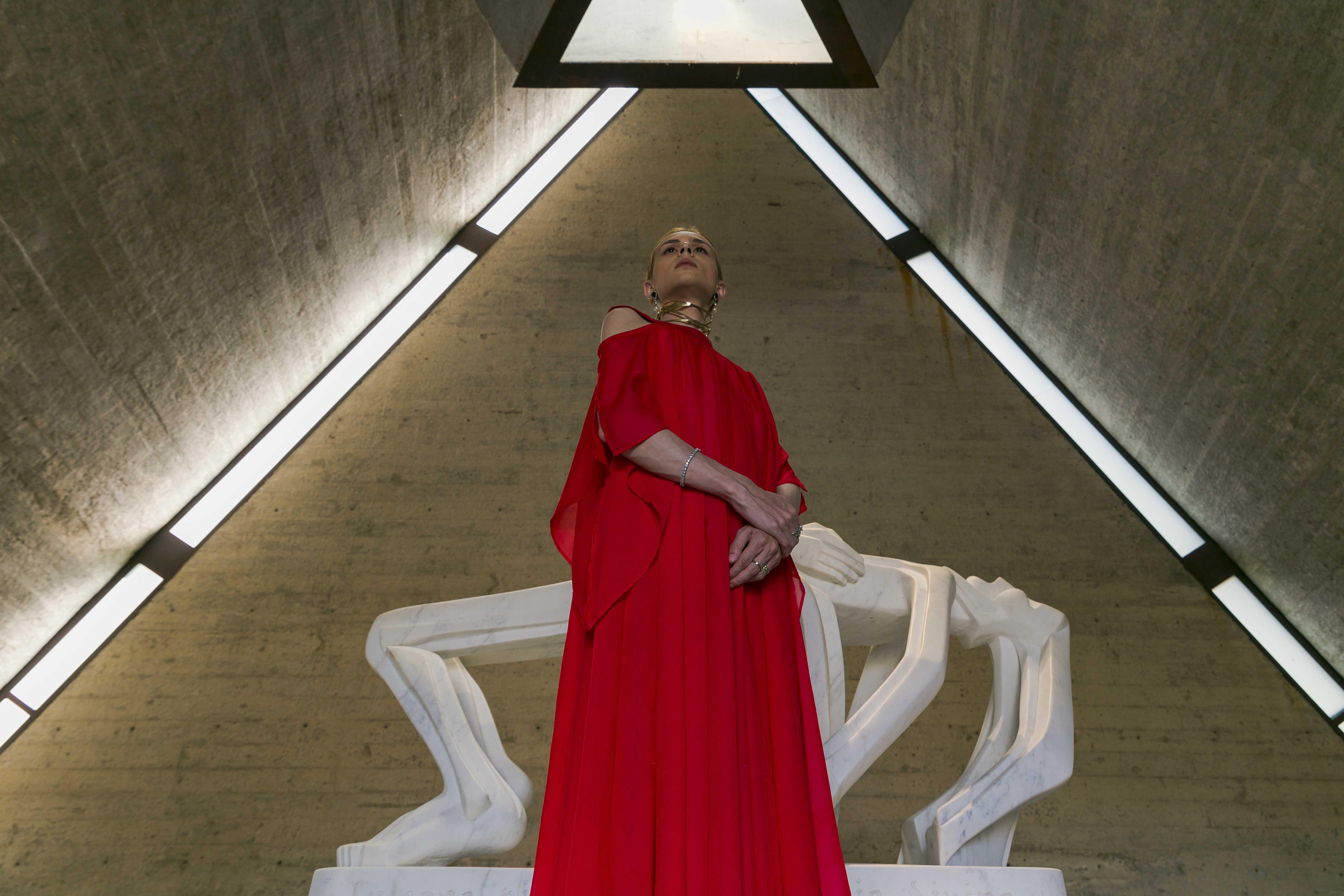 A imperatriz na Capela da Fundacion Pablo Atchugarry 2020