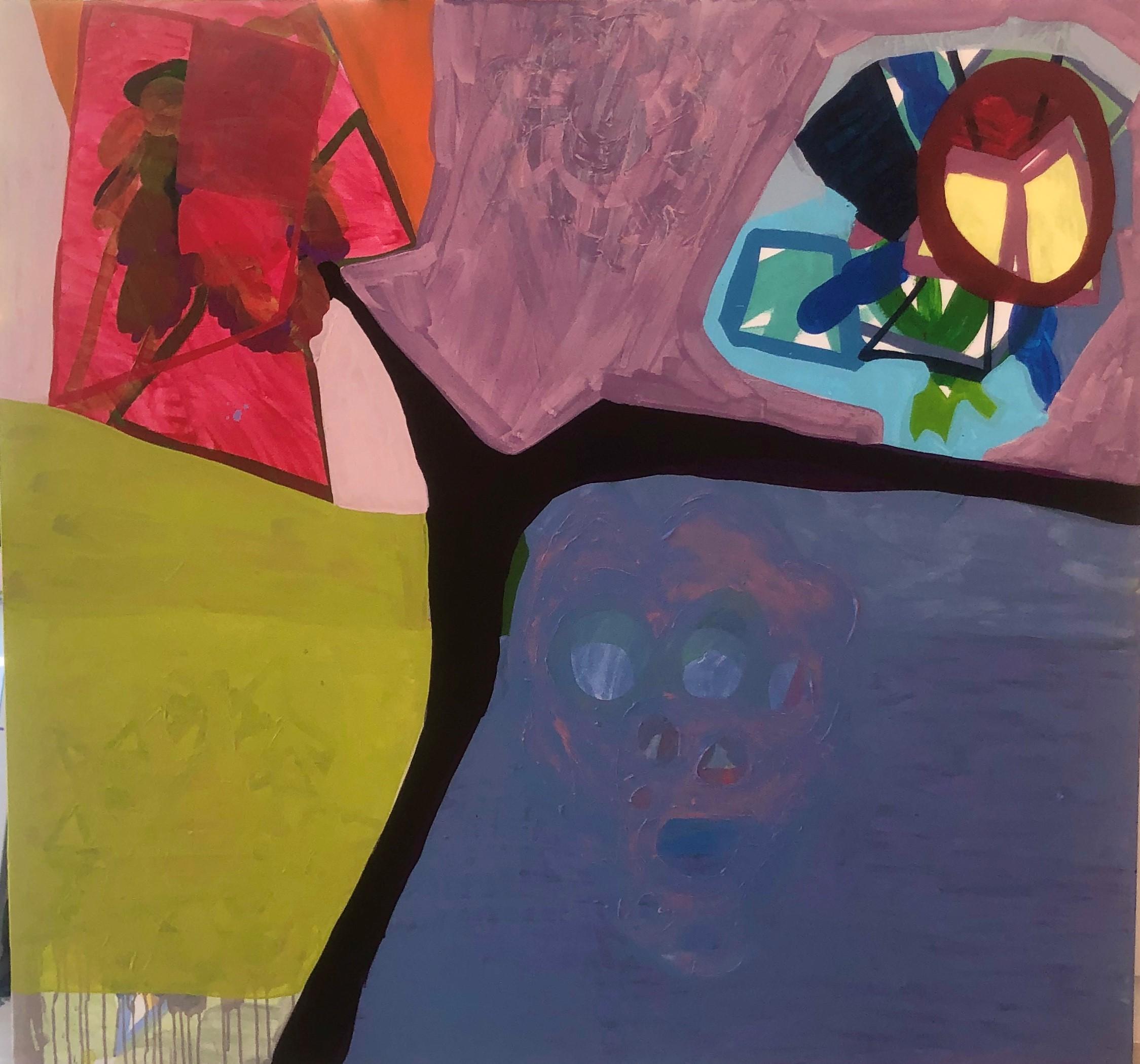 SÉRIE TRONCOS VI Maria Lynch. 2020 150x150 cm