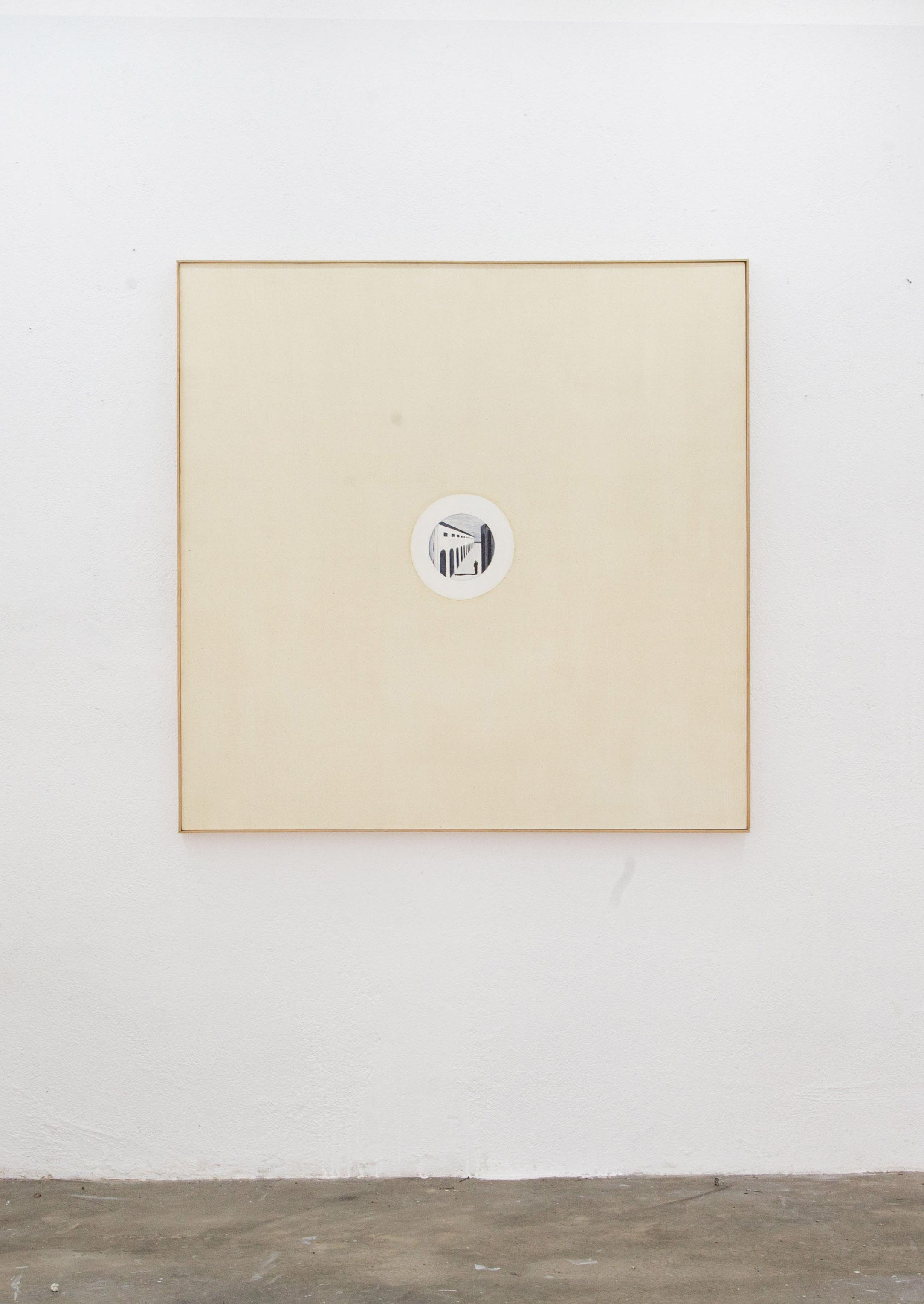 Renato Rios Serie LucciolesChirico, 2015 óleo sobre linho 30cm x 30cm
