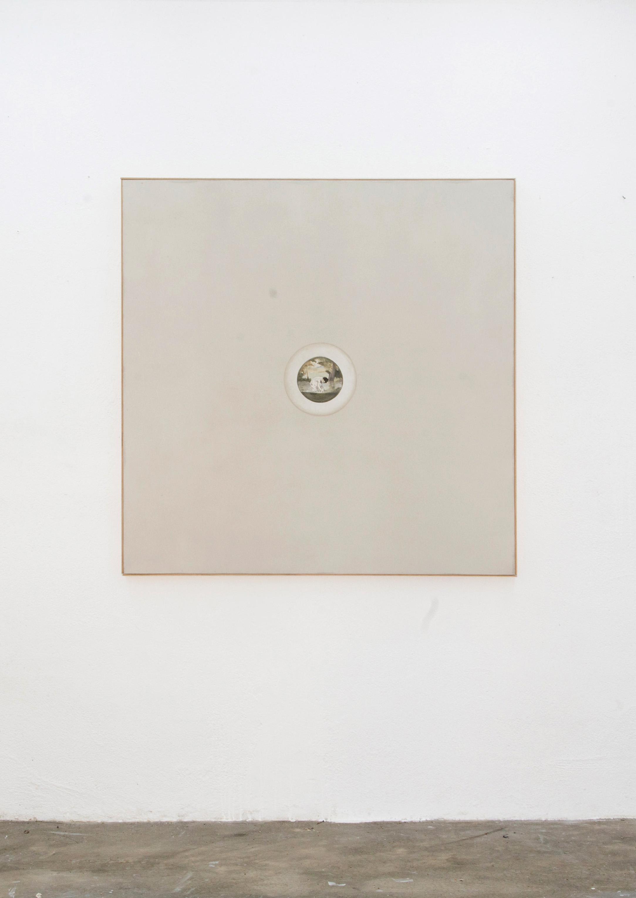 Renato Rios Serie Luccioles Monet, 2015 óleo sobre linho 30cm x 30cm