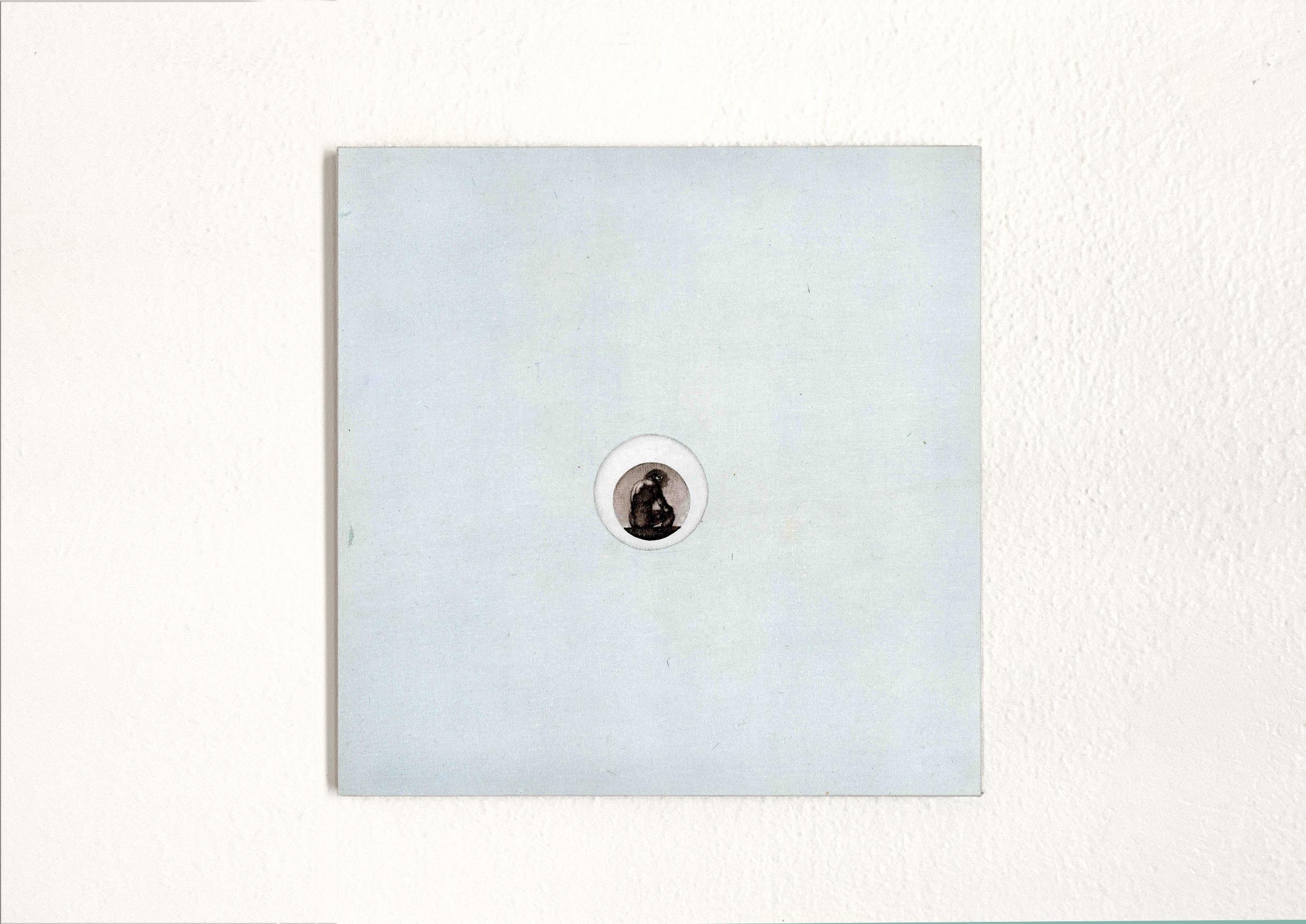 Renato Rios. Goya, 2015. óleo sobre linho. 30cm x 30cm