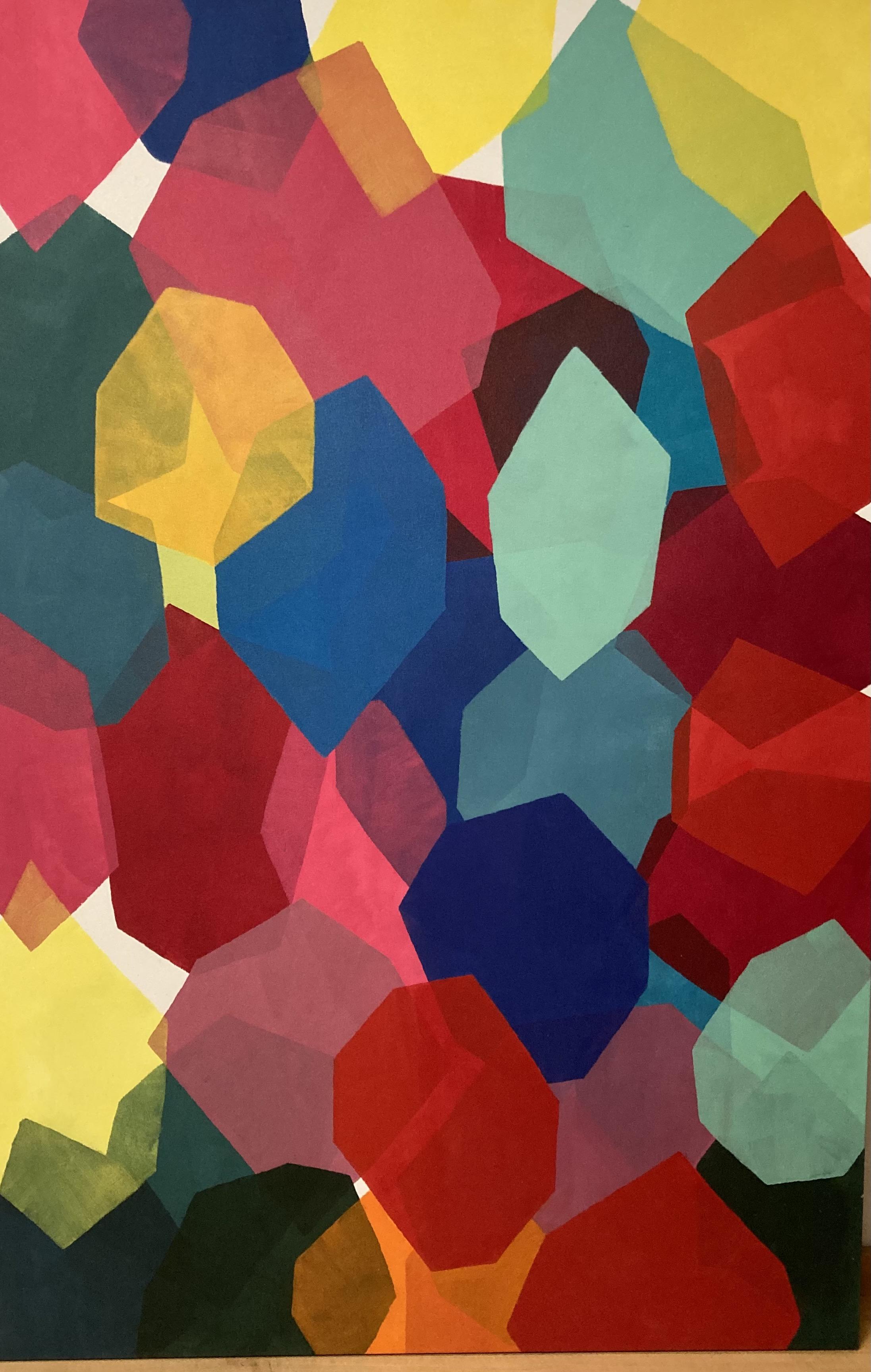 02. Daisy Xavier. Aproximação do vermelho 188 x 124 cm®Pat Kilgore