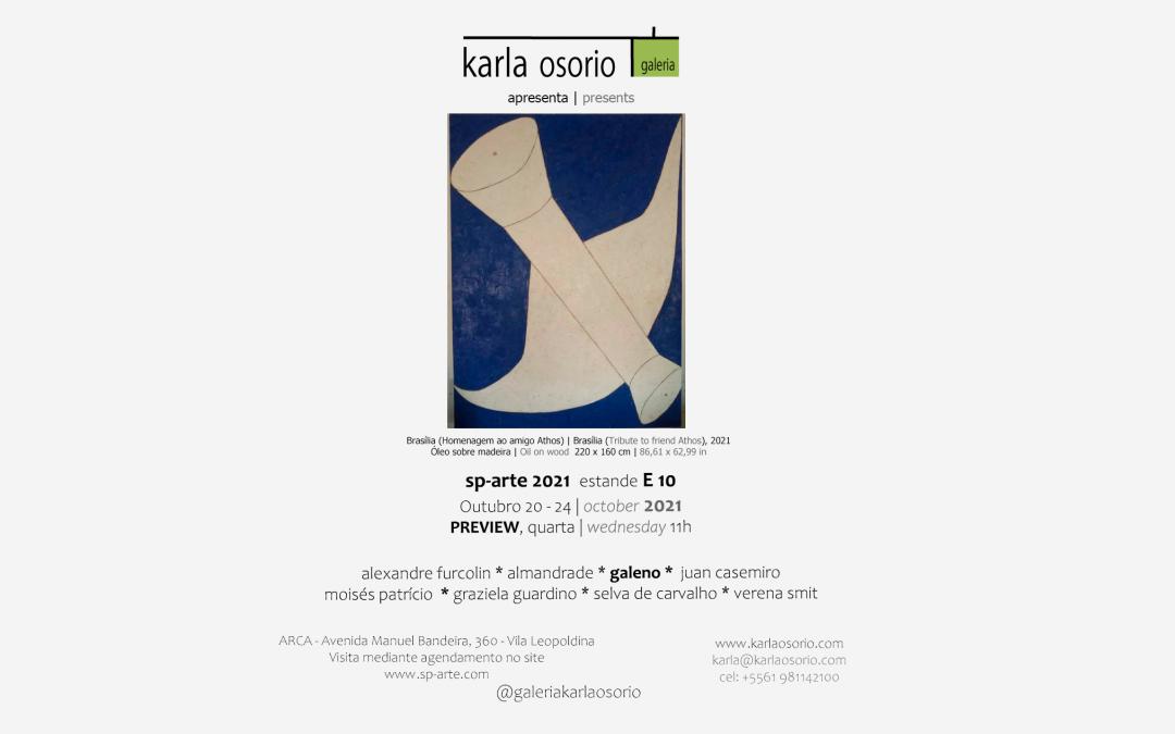 A Galeria Karla Osorio apresenta o projeto SIGNO-SIGNIFICANTE- SIGNIFICADO na SP Arte 2021